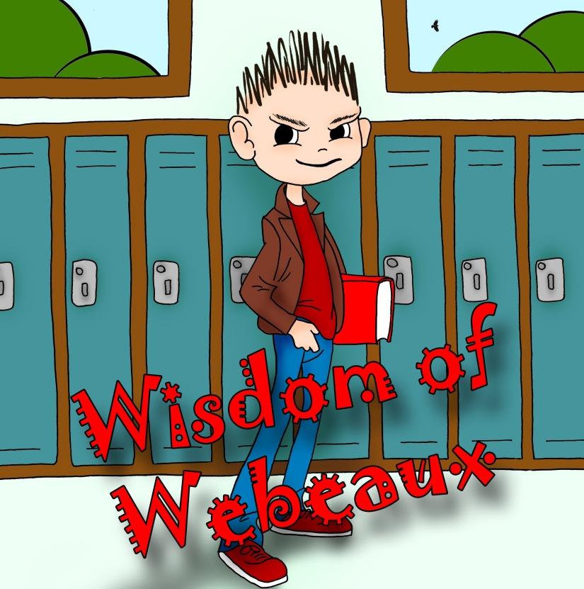 wisdom of webeaux - front